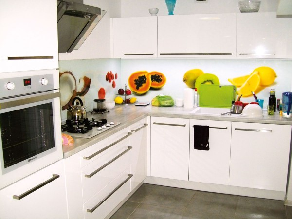 Owocowy ekran kuchenny