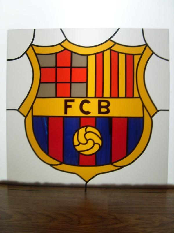 Witraż FC Barcelona